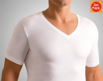 V Shirt wide Natural Comfort 3er Pack Novila (NOnc803606)