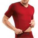 V Shirt 1/4 Arm Flash Basic ISAbodywear(ISAfp1545a)